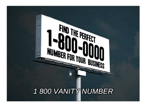 Find Great 1800 Vanity Numbers With UniTel Voice