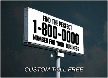 Update 2018: A Custom Toll Free Number Is A Great Way To Market Your Small  Business. Also Known As A Vanity 1800 Number, A Custom 800 Toll Free Number  ...