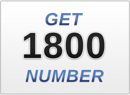 Get a 1-800 number for Your Cell Phone