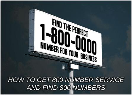 Find 800 Numbers Unitel Voice
