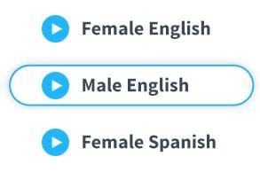 Select voice talent