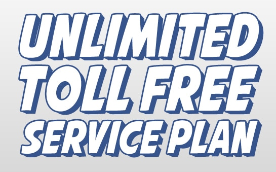 Get Unlimited Toll Free Service & 800 Numbers Unlimited Plan